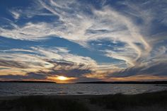 Sunset from Indian Neck Beach #Wellfleet #CapeCod