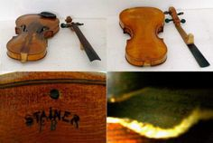 Jacobus Stainer violin from 1665