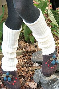 Ribbed Knit Leg Warmers. With jeans and ugg boots