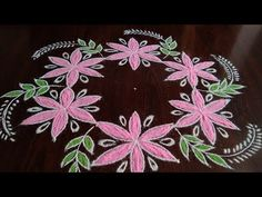 How to draw creative and easy flower rangoli only dots Rangoli Simple, Muggulu Design, Flower Rangoli, Rangoli Designs, Blouse Designs, Dots, Make It Yourself, Drawings, Creative