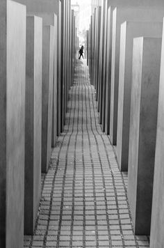 Holocaust Memorial, Berlin (by Gabriel_Misfire)
