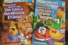 "Book reviews of Veggie Tale ""I Can Read"" books"