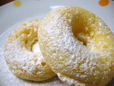 Mochi Donuts with Honey-Lemon Cream