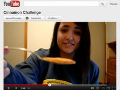 parents beware:  dangerous of cinnamon challenge let your kids know this is not a joke and very dangerous:(