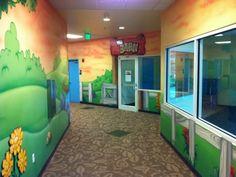 Worlds Of Wow - Children's Church Themed Environments Kids Church Rooms, Church Nursery, Preschool Rooms, Preschool Projects, Worlds Of Wow, Church Design, Themes Themes, School Themes, Kid Spaces