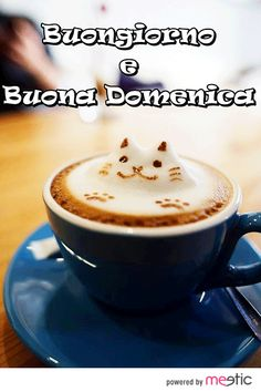 #Buongiorno #buonadomenica #cappuccino
