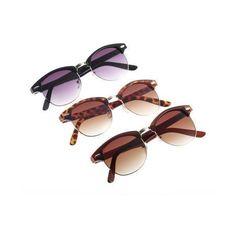 f68ef0578826c Cat Eye Brown Dress Summer Woman Shades Girl Teen Brown Lenses... ❤ liked
