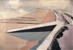 Paul Nash, The Shore, 1923, oil on canvas. Courtesy: Leeds Museums and Galleries; Leeds Art Gallery, UK; Bridgeman Images