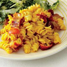 Rachel Ray's BLT Mac 'n' Cheese one of the most delicious dishes EVER!!!!