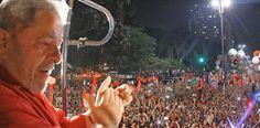 São Paulo- SP- Brasil- 18/03/2016- Ex-presidente Lula, durante ato em defesa da democracia, na avenida Paulista.Foto: Ricardo Stuckert/ Instituto Lula