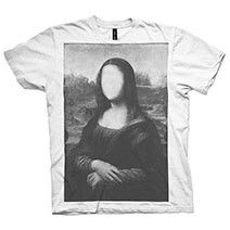 Anonymous Mona T-shirt by Young Lovers - Limited Edition of 100 from youngloverslabel.com