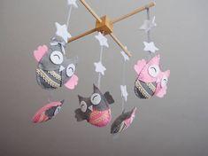 Baby Mobile Nursery Mobile Owl Baby Gifts Nursery Decor