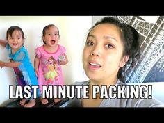 LAST MINUTE PACKING! - July 20, 2015 -  ItsJudysLife Vlogs