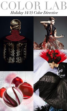 Trend Council:  Holiday 14/15 - Color Directive