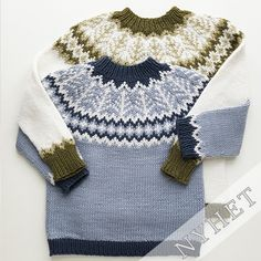 Ravelry: Emblagenser/Emblasweater pattern by Tina Hauglund Kids Knitting Patterns, Knitting For Kids, Baby Patterns, Crochet Patterns, Drops Design, Knit Crochet, Crochet Baby, Nordic Sweater, Ravelry