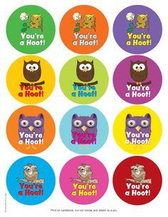 Guildcraft Volunteer owl pin