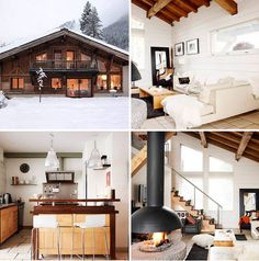 romatic chalet in the french alps by the style files, via Flickr