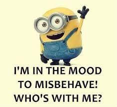 Funny Minion Pictures, Funny Minion Memes, Crazy Funny Memes, Minions Quotes, Really Funny Memes, Haha Funny, Funny Jokes, Hilarious, Minion Humor