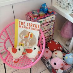Eenymeeny Kids Store in Tufnell Park, England. Kids furniture and accessories. Shop interior