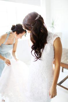 NYC Indoor Garden Wedding from Angelica Glass  Read more - http://www.stylemepretty.com/2012/12/14/nyc-indoor-garden-wedding-from-angelica-glass/