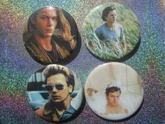 "River Phoenix Movies 2-1/4"" Pinback Buttons"