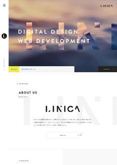 株式会社LINICA(リニカ) Site Design, Book Design, Layout Design, Modern Web Design, Creative Web Design, Web Japan, Portfolio Site, Ui Web, Email Design