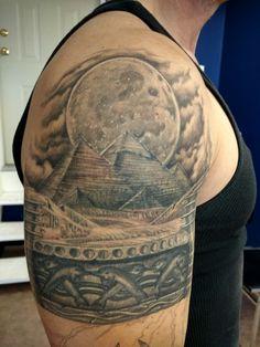 Pyramids tattoo