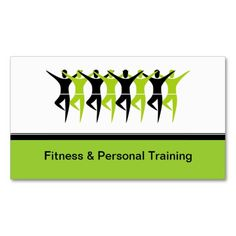 Modern Fitness and Personal Trainer Business Cards. This is a fully customizable business card and available on several paper types for your needs. You can upload your own image or use the image as is. Just click this template to get started!