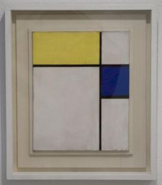 Philadelphia Museum of Art - Piet Mondrian - Composition of Blue and Yellow Philadelphia Museum Of Art, Mosaics, Yellow, Blue, Composition, Future, Painting, Color, Inspiration