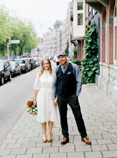Eloping In Amsterdam Our Wedding Story Vintage Dress
