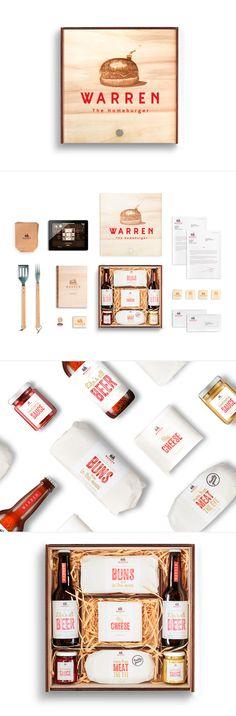 Unique Branding Design, Warren #Branding #Design (http://www.pinterest.com/aldenchong/)