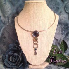 "Lia Sophia Necklace Lia Sophia Necklace. Color: Blue and Silver. Length: 17"". In great condition. Lia Sophia Jewelry Necklaces"