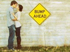Cute way to announce pregnancy!