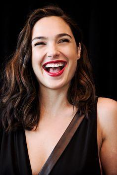 """galgadotsource: """"Gal Gadot at """"Wonder Woman"""" press conference """""""