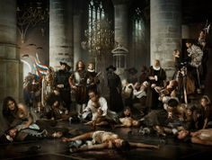 by Erwin Olaf    Liberty - Plague and Hunger during the Siege of Leiden    from the series: The Siege and Relief of Leiden (2011), commissioned by Museum De Lakenhal and Leiden University