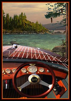 Like obtaining a driver's license, getting your boating license is a process that you must take seriously. Ski Boats, Cool Boats, Chris Craft Wooden Boats, Boating License, Wooden Speed Boats, Classic Wooden Boats, Vintage Boats, Power Boats, Boat Plans