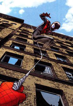 Ultimate Spider-Man  Amazing Spider-ManBy Sara Pichelli