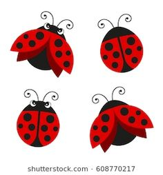Find Cartoon Ladybug Vector Set Isolated Background stock images in HD and millions of other royalty-free stock photos, illustrations and vectors in the Shutterstock collection. Wooden Welcome Signs, Eye Stickers, Embroidery Stitches Tutorial, Flower Doodles, Bugs And Insects, Watercolor Animals, Paint Designs, Mandala Art, Crochet Flowers