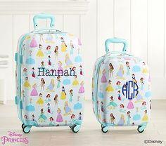 fa1760f64ac Mackenzie Aqua Disney Princess Hard Sided Luggage