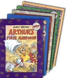 Arthur Books by Marc Brown: Arthur's Nose; Arthur's Thanksgiving; Arthur's Christmas; Arthur's Halloween; Arthur & the True Francine; Arthur's Valentine; Arthur Writes a Story; Arthur's Chicken Pox; April Fools; Arthur's Teacher Trouble