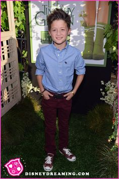 """Davis Cleveland At """"The Odd Life Of Timothy Green"""" Movie Premiere"""