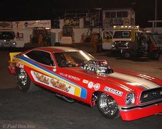 Look it's a Funny Car, but...I don't see any Chevy fans laughing.