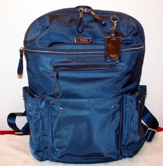 SOLD TUMI Calais Voyageur Laptop Business Backpack Hidden Zippers Ballistic Nylon #Tumi
