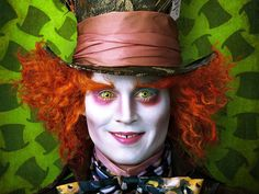 The Mad Hatter - Johnny Depp - Alice in Wonderland, the movie