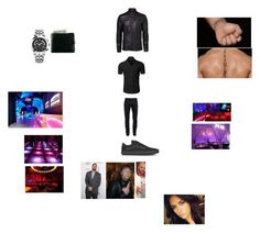 """""""Seth Clubbing Outfit (Tampa 2012)"""" by wwetnagirl ❤ liked on Polyvore featuring WWE, Yves Saint Laurent, Versace, Vans, Cova, men's fashion and menswear"""