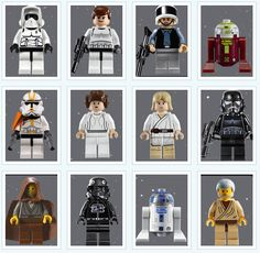 Star Wars mini figures
