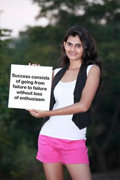 Success consists of going from failure to failure without loss of enthusiasm...