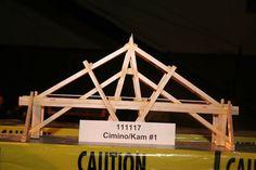 111117  61.50 kg Spaghetti Bridge, Wood Bridge, Physics, Building, Travel, Ideas, Bridges, Viajes, Buildings