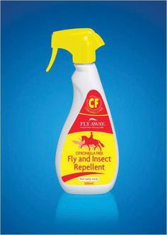Fly Away Citronella Free Fly And Insect Repellent Natural herbal solution insect reprellent Suitable for horses that are sensitive to citronella