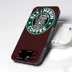 Slytherin Coffee Iphone 5 Case